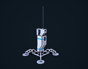 Sci-Fi Beacon 3D model