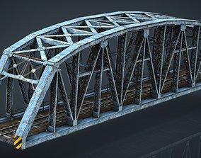 river 3D TRAIN BRIDGE