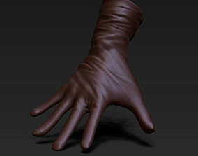 3 gloves 3D asset