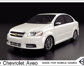 2009 Chevrolet Aveo 3D asset