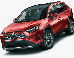 3D model Toyota RAV4 2019