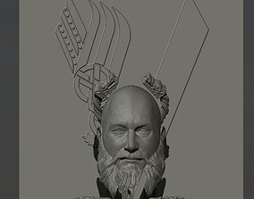 ragnar lothbrok art 3D print model
