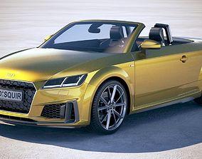 Audi TT Roadster S-line 2019 3D