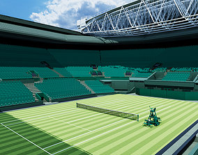 Wimbledon Centre court 3D model