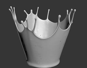 crown splash 3D