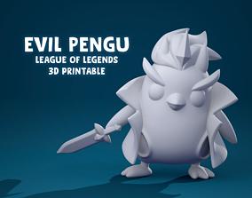 EVIL PENGU league of legends 3D printable model
