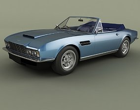 3D model Aston Martin DBS Convertible