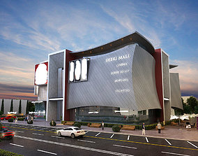 3D model Mall Building
