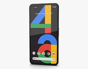 Google Pixel 4a Just Black 3D