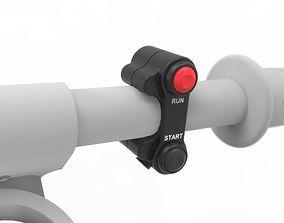 GP 2 Button Switchgear 3D model