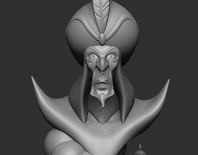 Jafar from Aladin 3D print model