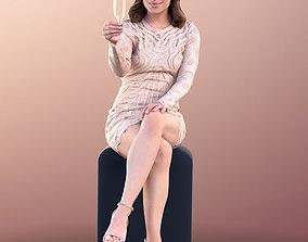 3D model 10818 Juliette - Elegant Woman Sitting With 1