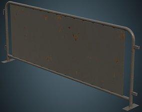 Crowd Barrier 5B 3D model