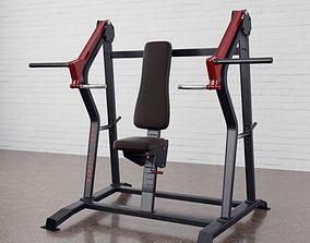 3D model Gym equipment 10 am169