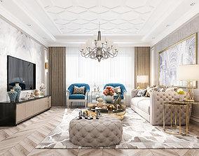Livingroom Avangarde 3D model