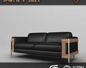 Missouri Sofa 3D asset