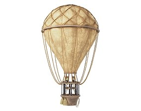 Vintage Balloon 3D asset