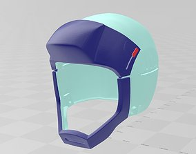 3D print model Zeta Gundam Pilot helmet Cosplay