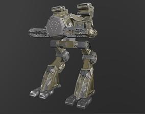 Accelerator Mech 3D asset
