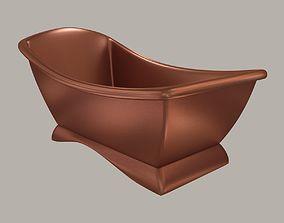 model of a modern copper bath