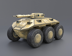 Tank T-1 3D