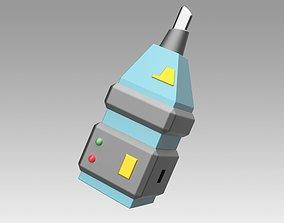 3D print model Star Trek Voyager Hero Retinal Imager 3