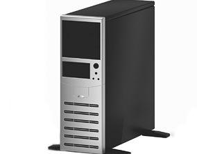 Black and Silver Desktop 3D