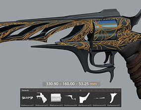 Malfeasance from Destiny 2 3D print model