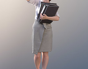 Svenja 10516 - Sorting Business Woman 3D model