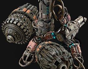 sci-fi parts collection - PBR robotic 3D