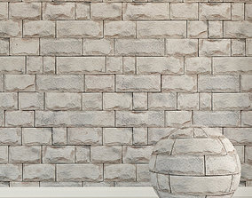 Brick wall Old brick 121 3D model