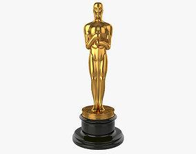 Oscar Trophy 3D model