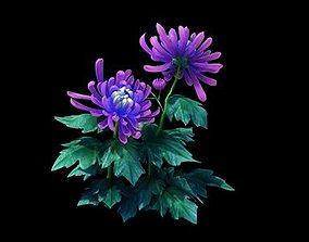 Garden - Xian Yun flowers and grass combination 04 3D