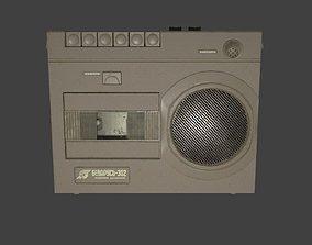 Cassette player Belarus-302 3D model