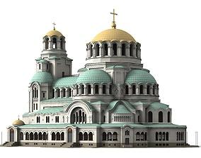 Alexander Nevsky Cathedral 3D