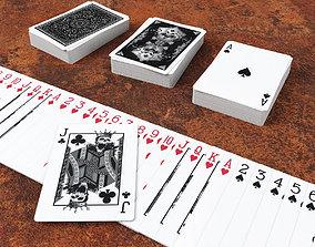 3D asset Playing Cards GRIMOIRE - Poker Card Set 5 - 2