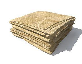 Towel lavatory 3D model