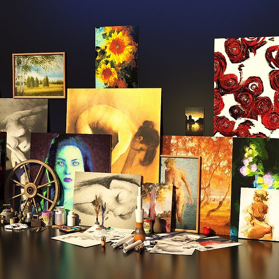 Artist Studio Set 190