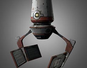 Red Zed Droid 3D model