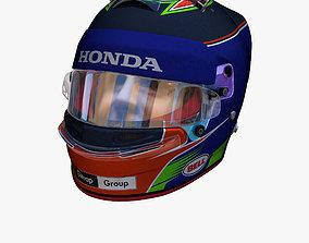 3D asset Hartley helmet 2018