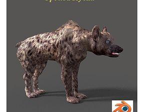 werewolf 3D model hyena