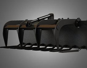 Manure Fork - Spare Part for JCB Skid Steer Loader 3D