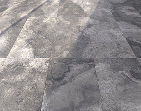 Marble Floor Bizantino Argento Set 1 3D