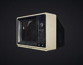 Television - PBR Game Ready 3D model