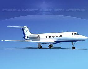 Grumman Gulfstream C-IIB V15 3D model