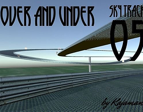 3D model Sky Track Over and Under
