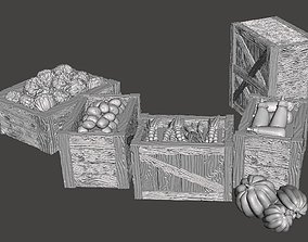 3D printable model Vegetables market