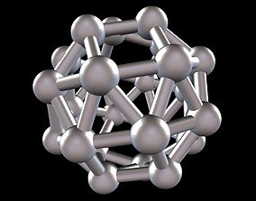 036 Mathart - Archimedean Solids - Snub 3D print model 4