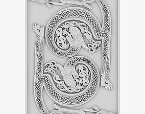 3D Celtic Ornament 18
