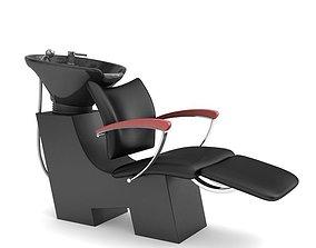 hairdresser hair wash chair 3D model
